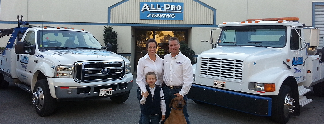 All Pro Towing & Recovery - Gilroy, CA - Family Owned